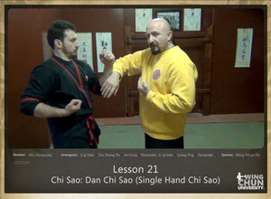 DOWNLOAD: Sifu Fernandez - WingTchunDo - Lesson 21 - Chi Sao - Dan Chi Sao (Single Hand Chi Sao)