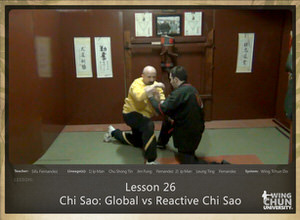 DOWNLOAD: Sifu Fernandez - WingTchunDo - Lesson 26 - Chi Sao - Global vs Reactive Chi Sao