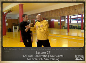 DOWNLOAD: Sifu Fernandez - WingTchunDo - Lesson 27 - Chi Sao - Reactivating Your Joints For Great Chi Sao Training