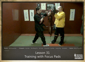 DOWNLOAD: Sifu Fernandez - WingTchunDo - Lesson 31 - Training with Focus Pads
