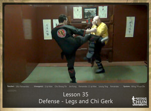 DOWNLOAD: Sifu Fernandez - WingTchunDo - Lesson 35 - Defense - Legs and Chi Gerk
