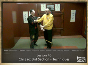 DOWNLOAD: Sifu Fernandez - WingTchunDo - Lesson 46 - Chi Sao - 3rd Section - Techniques