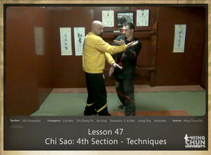 DOWNLOAD: Sifu Fernandez - WingTchunDo - Lesson 47 - Chi Sao - 4th Section - Techniques