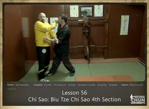 DOWNLOAD: Sifu Fernandez - WingTchunDo - Lesson 56 - Chi Sao - Biu Tze Chi Sao 4th Section