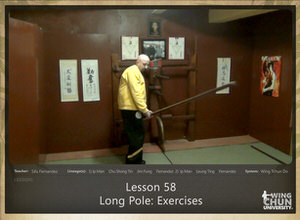 DOWNLOAD: Sifu Fernandez - WingTchunDo - Lesson 58 - Long Pole - Exercises