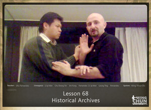 DOWNLOAD: Sifu Fernandez - WingTchunDo - Lesson 68 - Historical Archives