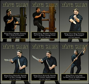 Todd Taganashi - Renegade Wing Chun - Bundle - 6 Video set