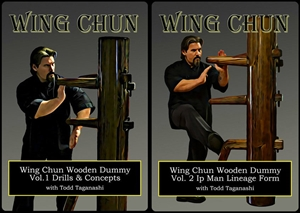 Todd Taganashi - Renegade Wing Chun - Bundle - Wooden Dummy