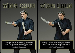 Todd Taganashi - Renegade Wing Chun - Bundle - Butterfly Swords