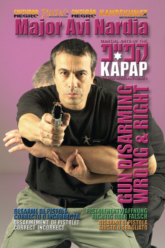 DOWNLOAD: Avi Nardia - Kapap Lotar Krav Maga Gun Disarming Keys
