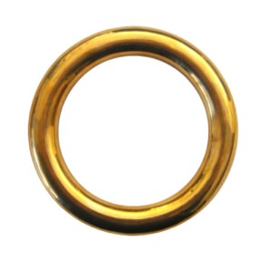 True Brass Forearm Ring - 10.5 cm (One Ring)
