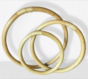 Wing Chun Training Ring Set - Rattan - 8, 10, 12 Inch Rings
