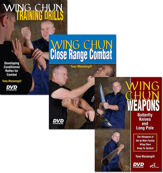 Bundle - Tony Massengill - Wing Chun Set