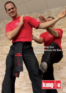 Sifu Taner & Sifu Graziano - Wooden Dummy Chi Sao Section 5