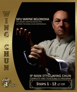 Wayne Belonoha - Ip Man Wing Chun System 01 - Steps 01-12 (Blu-Ray)