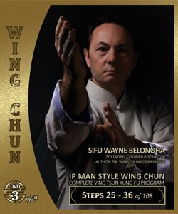 Wayne Belonoha - Ip Man Wing Chun System 03 - Steps 25-36 (Blu-Ray)
