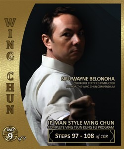 Wayne Belonoha - Ip Man Wing Chun System 09 - Steps 97-108 (Blu-Ray)