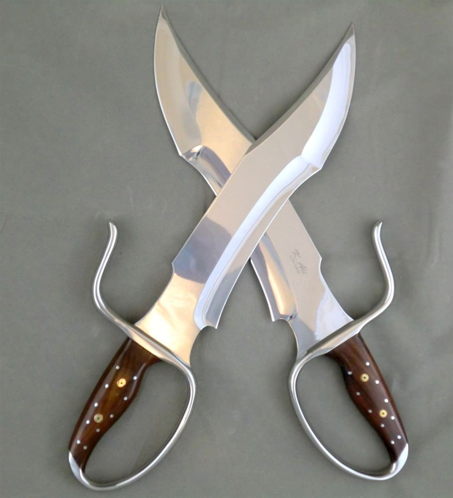 [SOLD OUT!] Wing Chun Butterfly Swords: NIGHTMARE v1 (Collector) - Sharp