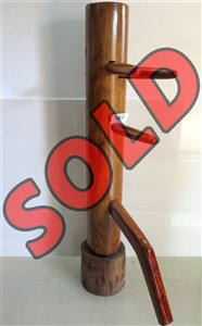 Buick Yip - Temple Pillar Wood Wing Chun Wooden Dummy -  Mook Yan Jong 463
