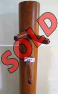 Buick Yip - Temple Pillar Wood Wing Chun Wooden Dummy -  Mook Yan Jong 487