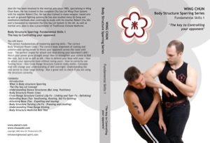 Alan Orr - Wing Chun Body Structure Sparring DVD 1: Fundamental Skills I - The Key to Controlling Your Opponent