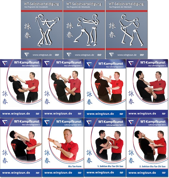Bundle - Sifu Niko - Wing Tsun 1-11 - Entire Set