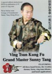 Sunny Tang - Ving Tsun Kung Fu - 45th Anniversary Celebration DVD