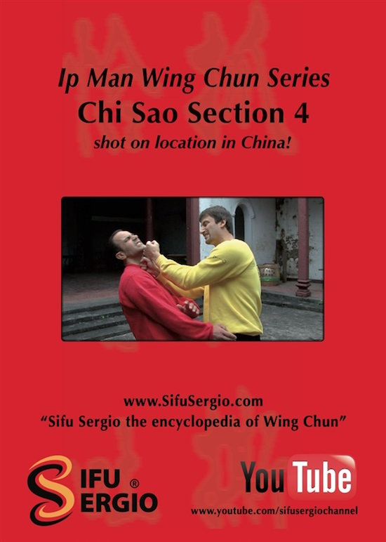 Sifu Sergio Iadarola - Chi Sao Section 4 - DVD