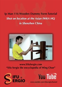 Sifu Sergio Iadarola - Yip Man 116 Wooden Dummy Form Tutorial- DVD