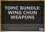 Sifu Fernandez - Wing Chun University Bundle - The WingTchunDo System Weapons