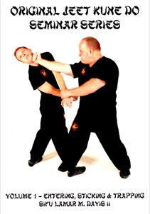 Lamar Davis - Original Jeet Kune Do Seminars Vol 1 - Entering, Sticking & Trapping
