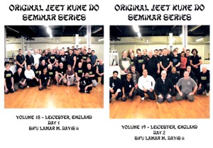 Lamar Davis - Original Jeet Kune Do Seminars Vol 18/19 - Leicester England