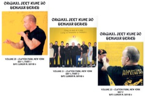 Lamar Davis - Original Jeet Kune Do Seminars Vol 20/21/22 - Clifton Park, New York (2nd Seminar)