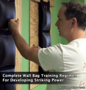 Jonathan Petree - Complete Wall Bag Training Regimen For Developing Striking Power