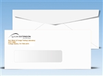 #10 Window Envelope printed 2 colors, free shipping