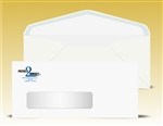 # 10 Window Envelopes, 2 color print (Black + 1 PMS), # 11040P2-SS
