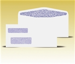 #9 Double Window Envelopes - Self Seal Gum, # 13060-SS