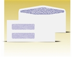 #10 Double Window Envelopes - Self Seal Gum, # 14010-SS