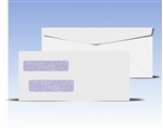 #10 Double Window Envelopes - Regular Gum Seal, # 14025