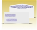 #10 Double Window Envelopes - Self Seal Gum, # 14025-SS