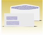 #10 Double Window Envelopes - Self Seal Gum, # 14030-SS