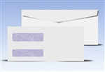 #10 Double Window Envelopes - Regular Gum Seal, # 14035