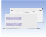 #10 Double Window Envelopes - Regular Gum Seal, # 14065