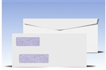 #10 Double Window Envelopes - Regular Gum Seal, # 14075