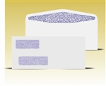 #10 Double Window Envelopes - Self Seal Gum, # 14075-SS