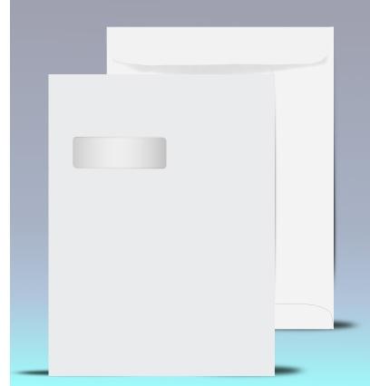 9 x 12 catalog window envelopes 21040