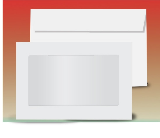 9x12 Full view window envelope