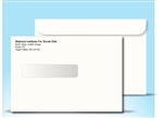6x9 Window Envelope with print