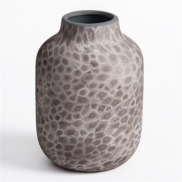 Petoskey Stone Small Vase