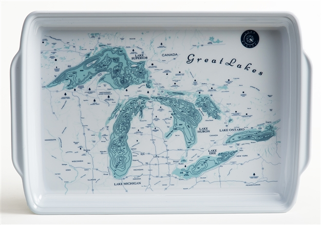 Great Lakes Melamine Serving Tray
